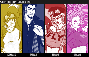 SC - Roster One by Grudge-Glamorous
