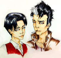 [Redone] Tim Drake / Jason Todd by batcheeks
