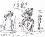 If Pip and Kintaro meets XD by KarenGriff