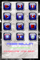 Pack icon multimedia blue by froshellin