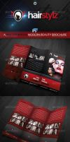 RW Beauty Hairsalon Trifold Brochure Template by Reclameworks