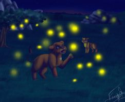 Are These Fireflies? by XxTheShatteredxX