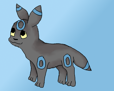 Shiny Umbreon Practice by pennypenny123