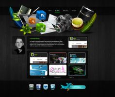 Personal Portfolio by Devious-Design
