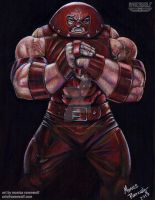 UNSTOPPABLE! - Juggernaut (Commission) by The-Art-of-Ravenwolf