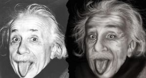 Einstein :P by Colombianit0