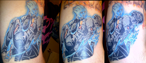 Mass Effect: Sacrifice Tattoo (Incomplete) by suicidebyinsecticide