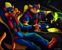 SWAT Kats: The Radical Squadron / Night Racing by Tai-L-RodRigueZ