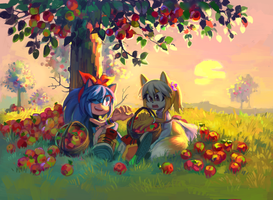Apples by BloomTH
