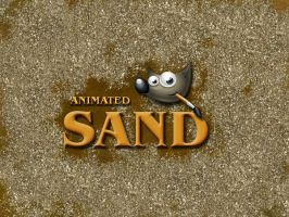 GIMP-Sand-Brush by Chrisdesign