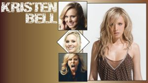 Kristen Bell Wallpaper by ResolutionDesigns