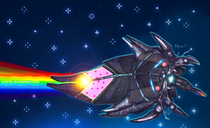 Nyan reaper by Mar-ER