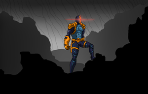 NuDeathstroke stamp frame by Scintillant-H