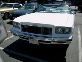 1975 Chevrolet Caprice Classic Convertible Face by RoadTripDog