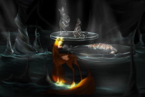 The Carousel Cavern by fishiefawns