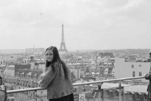 Paris from up top by WrightLover