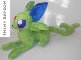 Shiny Espeon Plush by Sophillia