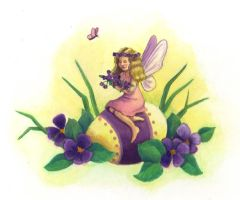 Easter Fairy by tlagrange