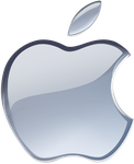 (late gift)Silver Apple logo vector(1) by WindyThePlaneh