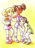 Dee Dee, Mee Mee and Lee Lee by Gigei