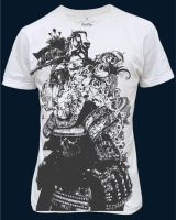 Samurai T-shirt design by chadlonius