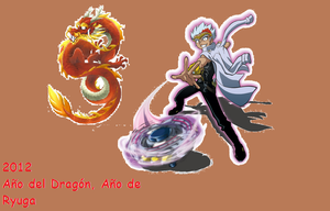 2012 Year of the Dragon by Kyoya-Tategami