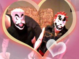 Violent J and Shaggy2Dope by DaveFarrell