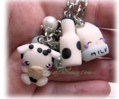 i love milk bracelet by AlchemianShop