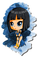 Populous .:Chibi Blue Shaman:. by Miapon