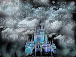 Castle in the Clouds Wallpaper by WDWParksGal-Stock