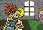 Crono and Marle by fullmetaltriforce64
