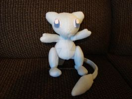 Custom Shiny Mew Pokemon Plush by Dark-and-One-Other