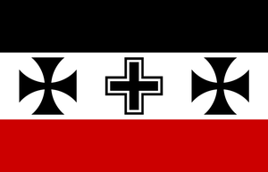 Imperial Germany Alt Flag by BullMoose1912