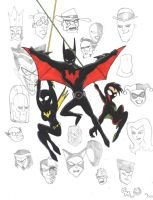 Batman Beyond Family by Hyperkid37