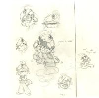 Genie Jack Sketches by Frankyding90
