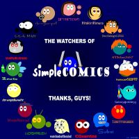 Thanks to the Watchers by simpleCOMICS