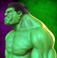 Hulk by Hoborgian
