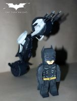The Dark Knight Papercraft by suraj281191