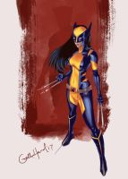 All-New Wolverine by gothichand