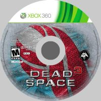 Dead Space 3 disc cover design by bulletreaper117