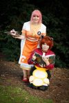 Cosplay - Rita and Estelle by Evadoll