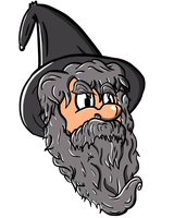 Wizardest floating head by Zorrothe2nd