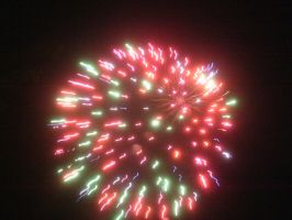 canada day fireworks 4 by BlueIvyViolet