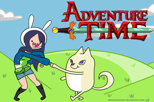my adventure time OC by nana-chin