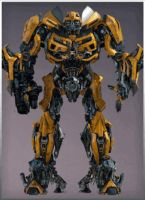 3D Bumblebee 1 Reference by Crosshairs-RP