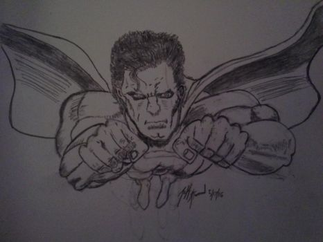 pissed  off superman  by smokinjeff