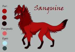 Sanguine Reference Sheet by Vampynella