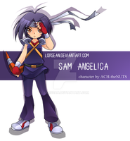 Sam Angelica by LorSean