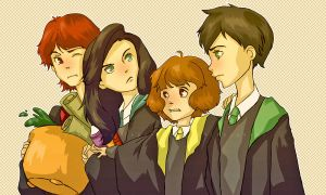 PotterArt: First Year Founders by Do0dlebugdebz