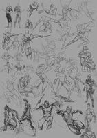 sketch and study dump by Chrysley